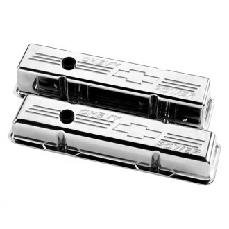 Billet Specialties® - Tall Chevy Power Style Valve Covers