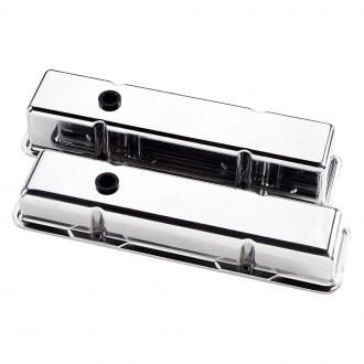 Billet Specialties® - Tall Plain Style Valve Covers