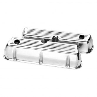 Billet Specialties® - Tall Ball Milled Style Valve Covers