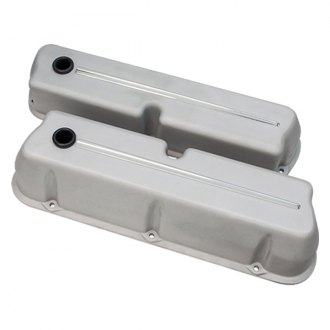 Billet Specialties® - Natural Tall Streamline Style Valve Covers