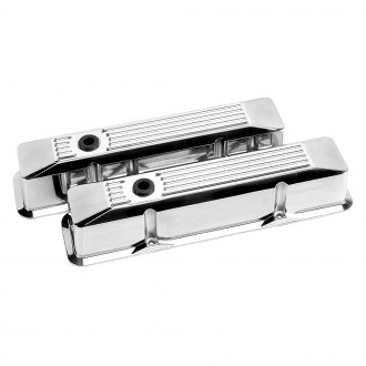 Billet Specialties® - Tall Ribbed Style Valve Covers