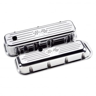 Billet Specialties® - Tall Streamline Style Valve Covers