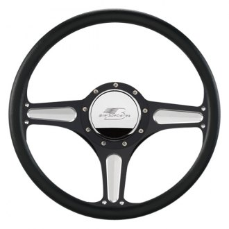 Billet Specialties® - 3-Spoke Standard Series Street Lite Style Steering Wheel
