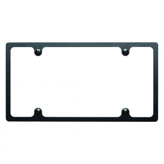 Billet Specialties® - Plain Slim-Line License Plate Frame