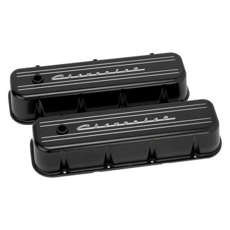Billet Specialties® - Short Chevy Power Style Valve Covers