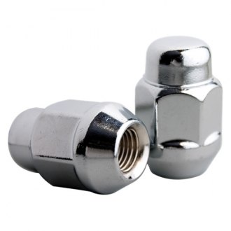 Billet Specialties® LN1415 - Chrome Cone Seat Acorn Bulge Lug Nuts