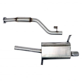 Billy Boat Exhaust® - Stainless Steel Cat-Back Exhaust System with Single Rear Exit