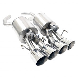 Billy Boat Exhaust® - Stainless Steel Factory NPP Fusion Axle-Back Exhaust System with Quad Rear Exit
