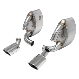 Billy Boat Exhaust® - Stainless Steel Axle-Back Exhaust System with Split Rear Exit