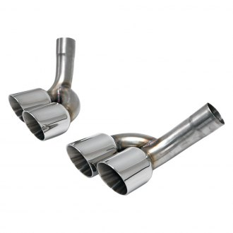 Billy Boat Exhaust® - Quad Double-Wall Exhaust Tips