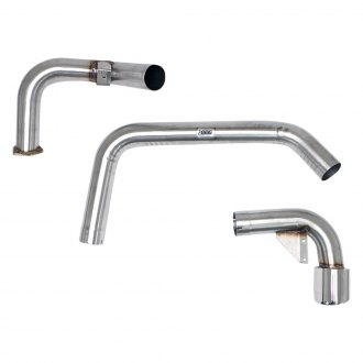 Billy Boat Exhaust® - Cat-Back Exhaust System with 5 1/4'' Single Oval Tip