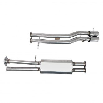 Billy Boat Exhaust® - Stainless Steel Cat-Back Exhaust System with Dual Rear Exit