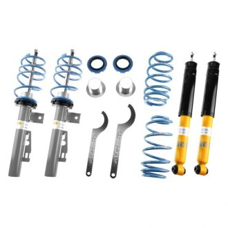 "Bilstein® - 0.4""-0.8"" x 0.4""-1.2"" B14 Series Front and Rear Lowering Coilover Kit"