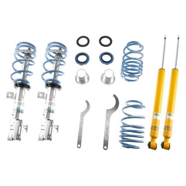Bilstein® - B14 Series Front and Rear Lowering Coilover Kit