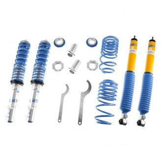 "Bilstein® - 1""-1.8"" x 0.8""-1.6"" B16 Series PSS9 Front and Rear Lowering Coilover Kit"
