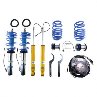 "Bilstein® - 0.8""-1.6"" x 0.8""-1.6"" B16 Series Ridecontrol™ Front and Rear Lowering Coilovers"