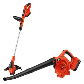 Black & Decker® - 18V NiCd Trimmer and Sweeper Kit