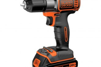 Black & Decker® - 20V Cordless Lithium Drill/Driver with Autosense Technology
