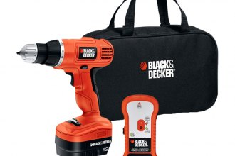 Black & Decker® - 12V Cordless Drill/Driver with Stud Sensor and Storage Bag