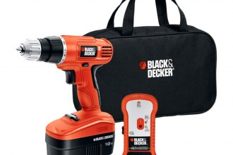 Black & Decker® - 18V Cordless Drill/Driver with Stud Sensor and Storage Bag