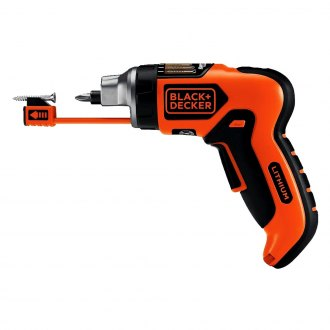 Black & Decker® - 4V MAX Lithium Rechargeable Screwdriver with Smart Select® Technology