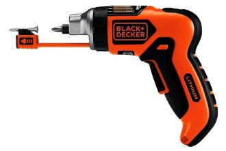 Black & Decker® - Lithium Screwdriver with SmartSelect™ Technology