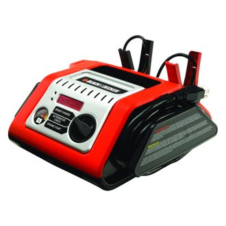 Black & Decker® - 25 Amp Simple Battery Charger, with 75-Amp Engine Start