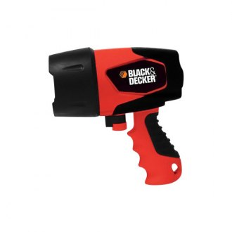 Black & Decker® - Waterproof LED Rechargeable Spotlight