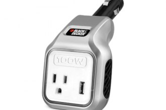 Black & Decker® - 100 Watt Power Inverter