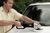 Black & Decker® - Professional High Speed Sander / Polisher in Use