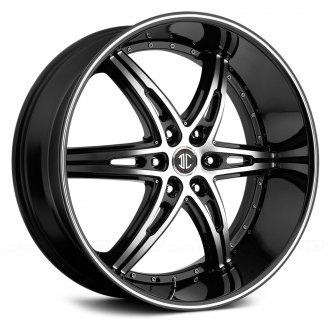 BLACK DIAMOND® - No.16 Gloss Black with Machined Face and Stripe