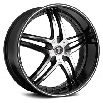 BLACK DIAMOND® - No.17 Gloss Black with Machined Face and Stripe
