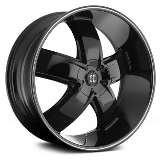 BLACK DIAMOND® - No.18 Gloss Black with Machined Stripe