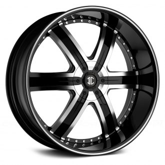 BLACK DIAMOND® - No.4 Gloss Black with Machined Face and Stripe