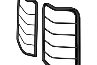 Black Horse® 7G112106A - Black Powdercoat Tail Light Guards