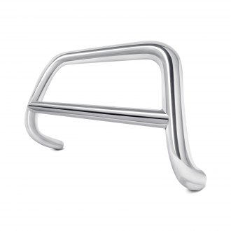 "Black Horse® - 2.5"" Polished Bull Bar w/o Skid Plate"