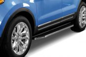 Black Horse® - Black Premium Running Boards, Installed