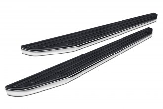 Black Horse® - Black Powdercoat Running Boards