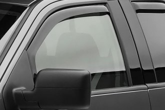 Black Horse® - In-Channel Off-Road Smoke Rain Guards
