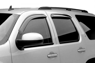 Black Horse® - Off-Road Smoke Rain Guards