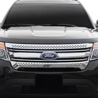Black Horse® - Chrome Main Grille Trim