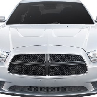 Black Horse® - 4-Pc Black Mesh Main Grille