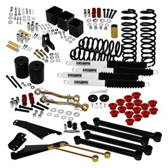 "Black Mountain® - 5"" x 5"" Front and Rear Suspension Lift Kit"