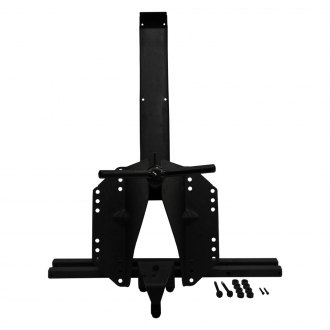 Black Mountain® - Heavy-Duty Black Spare Tire Carrier