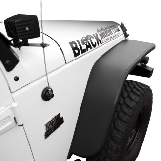 Black Mountain® - Front and Rear Fender Flares Kit