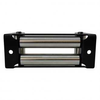 "Black Mountain® - 11"" Polished Winch Roller Fairlead"