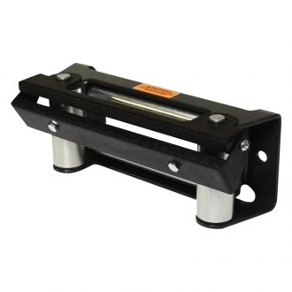 Black Mountain® - Black Winch Roller Fairlead License Plate Hinge