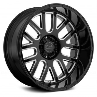BLACK RHINO® - PISMO Gloss Black with Milled Spokes