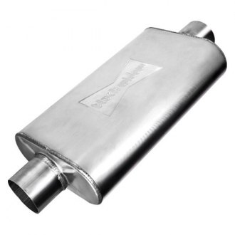 Black Widow® - Venom 300 Series Stainless Steel Oval Exhaust Muffler