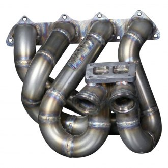 Blackworks Racing® - T3 Divided Top Mount Turbo Manifold, 44mm